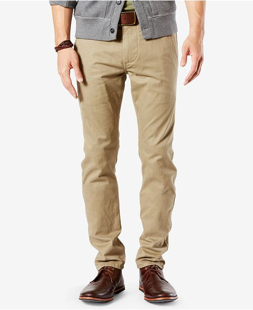 various colors official supplier top-rated original Dockers Men's Stretch Original Skinny Fit Alpha Khaki Pants ...