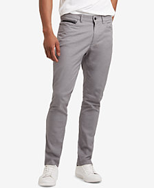 Kenneth Cole Reaction Men's Brooklyn Slim-Fit Stretch Twill Pants