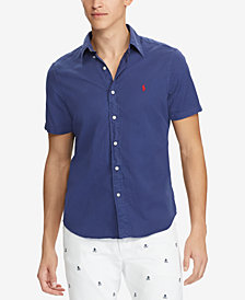 Polo Ralph Lauren Men's Big & Tall Classic-Fit Twill Shirt