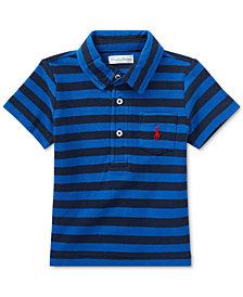 Ralph Lauren Striped Cotton Polo, Baby Boys