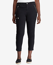 Lauren Ralph Lauren Plus Size Stretch Twill Pants
