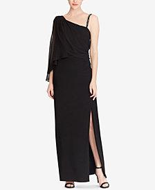 Lauren Ralph Lauren Georgette Overlay Gown