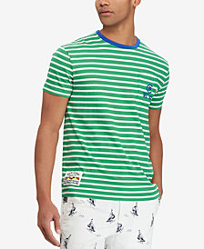 Polo Ralph Lauren Men's CP-93 Classic-Fit Striped T-Shirt
