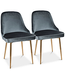 Marcel Dining Chair (Set of 2), Quick Ship