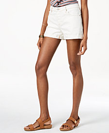 Lucky Brand Cotton Cuffed Boyfriend Shorts