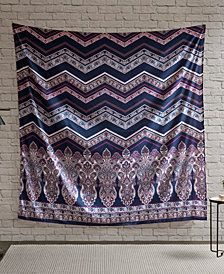 "Intelligent Design Adley 90"" Square Printed Wall Tapestry"