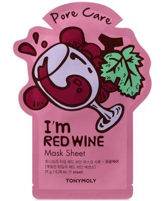 I'm Red Wine Sheet Mask - (Pore Care)