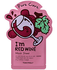 TONYMOLY I'm Red Wine Sheet Mask - (Pore Care)