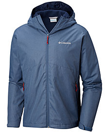 Columbia Men's Rainie Falls Waterproof Hooded Jacket