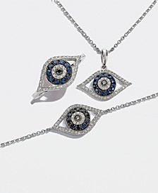 EFFY® Sapphire & Diamond Evil Eye Collection in 14k White Gold
