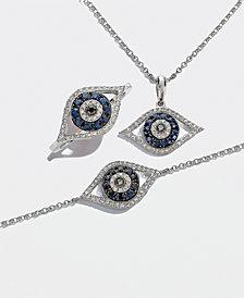 EFFY® Sapphire & Diamond Evil Eye Collection in 14k White Gold