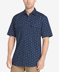 G.H. Bass & Co. Men's Explorer Printed Fishing Shirt