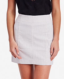 Free People Modern Femme Embroidered Mini Skirt