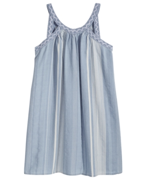 Epic Threads Striped Keyhole Strap Dress Big Girls Created for Macys