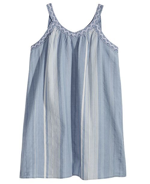 238a2709 ... Epic Threads Striped Keyhole Strap Dress, Big Girls, Created for Macy's  ...