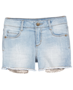 Epic Threads Sequin Pocket Shorts Big Girls Created for Macys