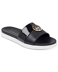 Tommy Hilfiger Women's Souli Slip-On Flat Sandals