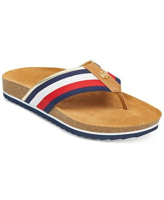 Tommy Hilfiger Giulio Footbed Thong Sandals