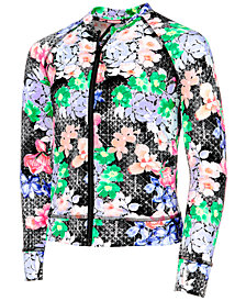 Ideology Floral-Print Zip-Up Jacket, Little Girls, Created for Macy's