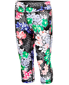 Ideology Printed Capri Leggings, Little Girls, Created for Macy's