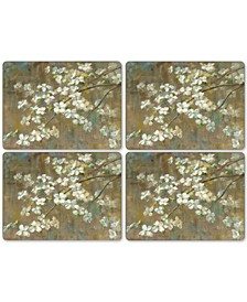 Dogwood in Spring Set of 4 Placemats