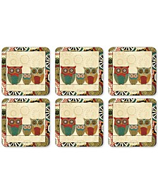 Pimpernel Spice Road Set of 6 Coasters