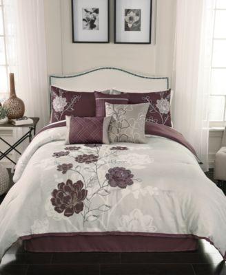 CLOSEOUT! Zora 7-Pc. Full Comforter Set