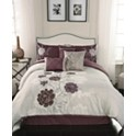 Hallmart Collectibles Zora 7 Piece Full Comforter Set