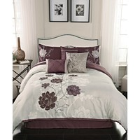 Deals on Hallmart Collectibles Zora 7-Pc. Full Comforter Set