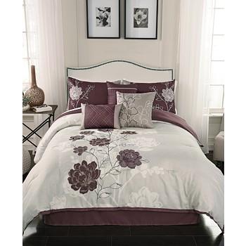 Hallmart Collectibles Zora 7 Piece Full Comforter Set