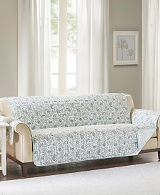 Madison Park Dawn Reversible Printed Sofa Protector