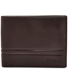 Fossil Men's Wilder Bifold Leather Wallet