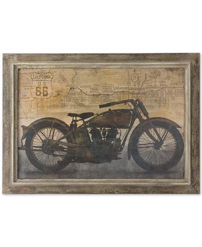 Uttermost Ride Framed Wall Art