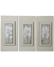 Uttermost Triptych Trees 3-Pc. Hand-Painted Wall Art Set