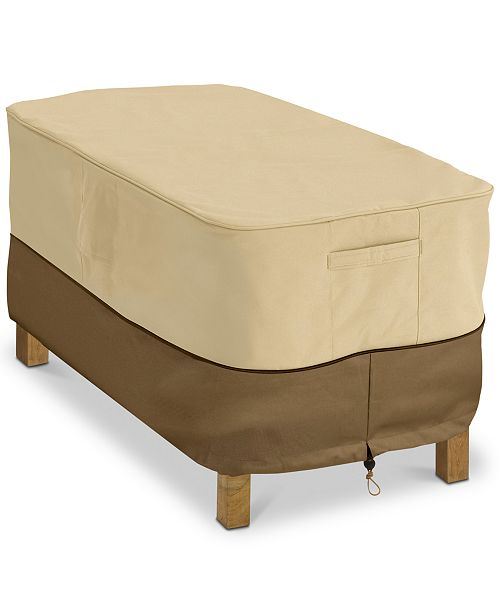 Classic Accessories Rectangular Patio Coffee Table Cover