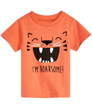 First Impressions Baby Boys GraphicPrint Cotton TShirt Created for Macys