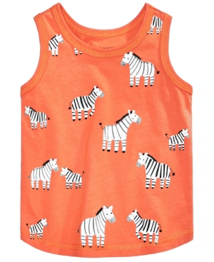 First Impressions Baby Boys ZebraPrint Cotton Tank Top Created for Macys