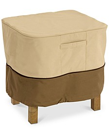 Small Ottoman Side Table Cover