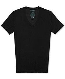 Tommy John Men's Deep V-Neck Stay Tucked Undershirt