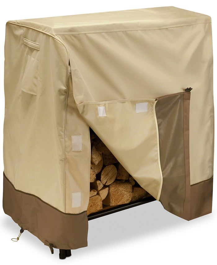 Classic Accessories - 4' Log Rack Cover, Quick Ship