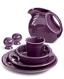 Fiesta Mulberry Dinnerware Collection