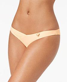 Body Glove Juniors' Coco Brief Shirred Cheeky Bikini Bottoms