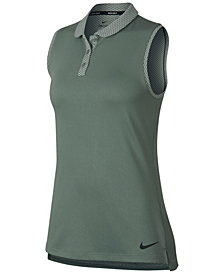 Nike Dry Sleeveless Golf Polo