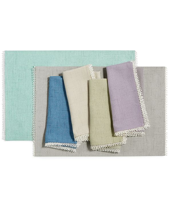 Lenox French Perle Placemat & Napkin Collection