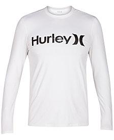 Hurley Men's Logo Long-Sleeve Swim Shirt