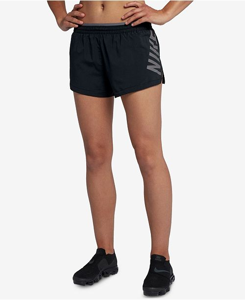 Nike Elevate Running Shorts   Reviews - Shorts - Women - Macy s 502ec5a7e
