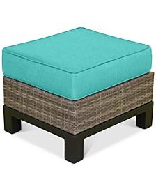 North Port Ottoman Replacement Sunbrella® Cushion, Quick Ship
