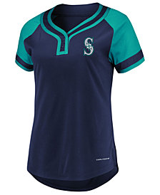 Majestic Women's Seattle Mariners League Diva T-Shirt