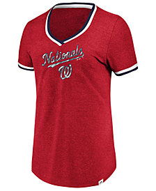 Majestic Women's Washington Nationals Driven by Results T-Shirt