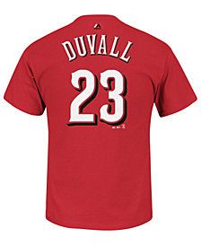 Majestic Men's Adam Duvall Cincinnati Reds Official Player T-Shirt